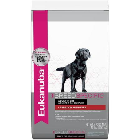 Eukanuba Breed Specific Labrador Retriever Nutrition Dry Dog Food, 30 Lb