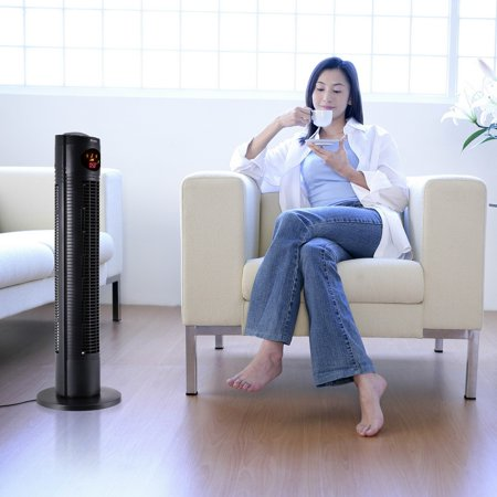 Hascon 33 Portable Tower Fan Wind 3 Sd Cooling Living Room Bedroom With