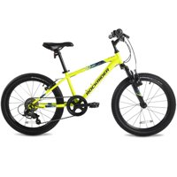 "Btwin by DECATHLON - Mountain Bike ST500 - 20"" - Yellow - Kids"