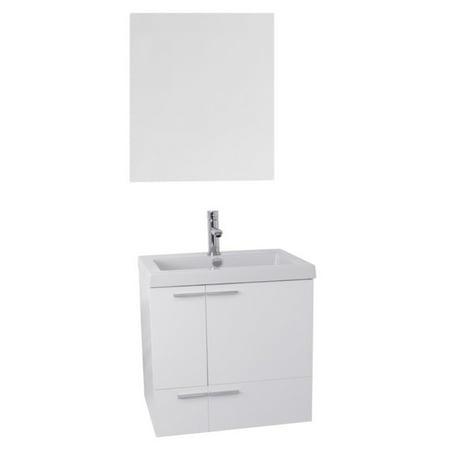 Acf Dome (ACF by Nameeks New Space 23 in. Single Bathroom Vanity Set )