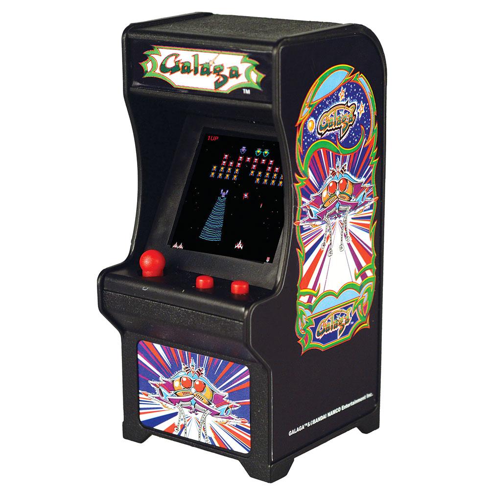 PAC-MAN Mini Handheld Retro Game w// Keychain Super Impulse New Tiny Arcade Ms
