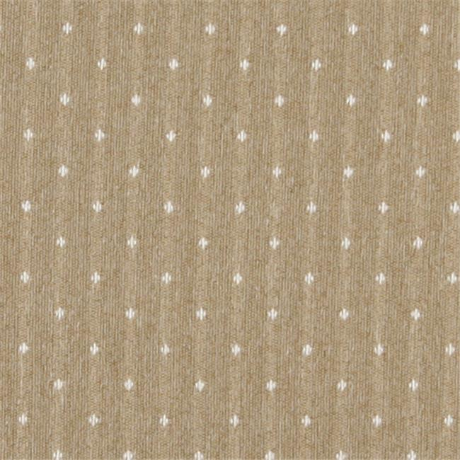 Designer Fabrics C617 54 in. Wide Gold And Ivory, Dotted Country Style Upholstery Fabric