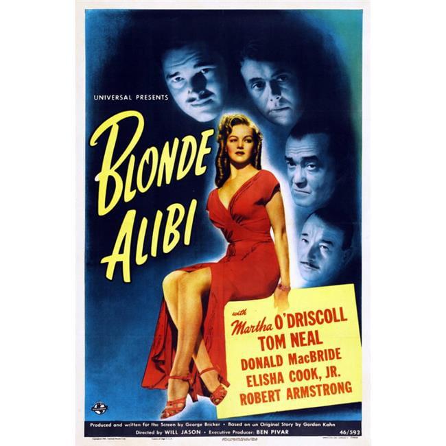 Posterazzi MOVGI2264 Blonde Alibi Movie Poster - 27 x 40 in. - image 1 de 1