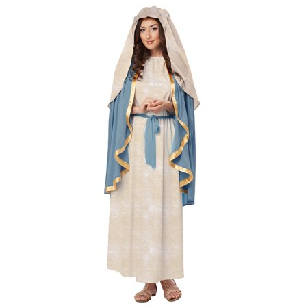 The Virgin Mary Adult Costume - Large](Halloween Mary Bu)