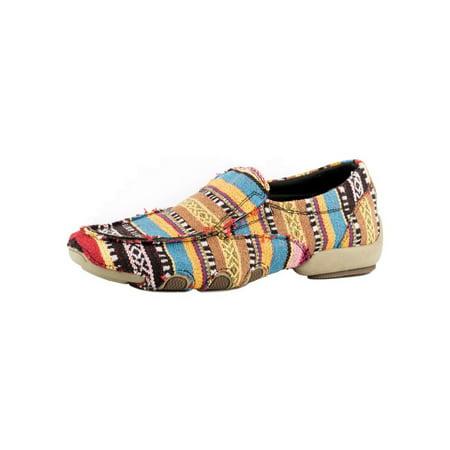 Roper Western Shoe Womens Southwest Stripes Multi 09-021-1776-0131