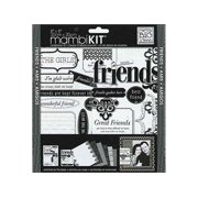 Me And My Big Ideas Scrapbook Page Kit Lbd Friends 8 X 8 Inches for $<!---->
