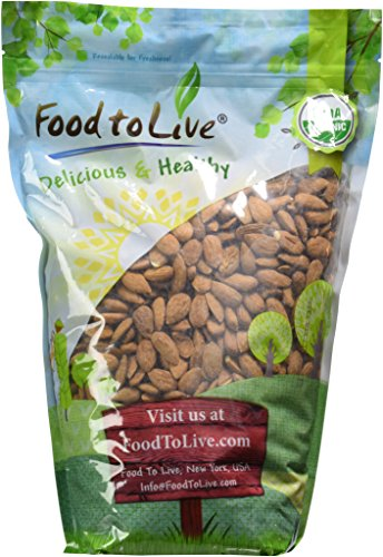 Food To Live ? Organic Almonds (Raw, No Shell, Unpasteurized) (4 Pounds)