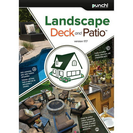 Encore Software LIC3918 Punch Landscape, Deck, Patio v17.7 (Digital Code) ()