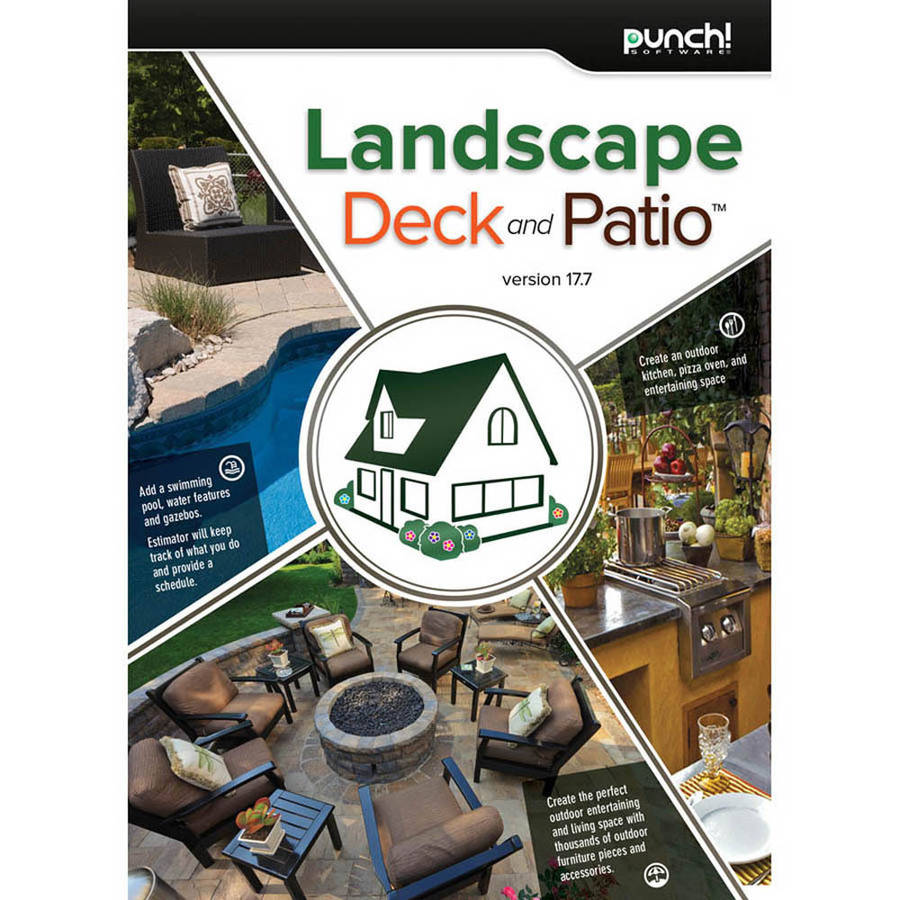 Encore Software LIC3918 Punch Landscape, Deck, Patio v17.7 (Digital Code)