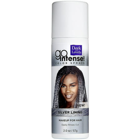 2 Pack - Dark and Lovely Go Intense Color Sprays, Silver Lining 2
