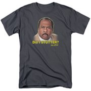 The Office Comedy Sitcom TV Series NBC Did I Stutter Adult T-Shirt Tee