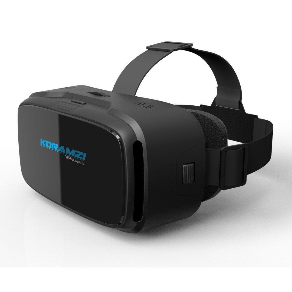 samsung virtual reality headset. koramzi vr 3d glasses virtual reality headset/ goggles for any 4-6 inch samsung headset