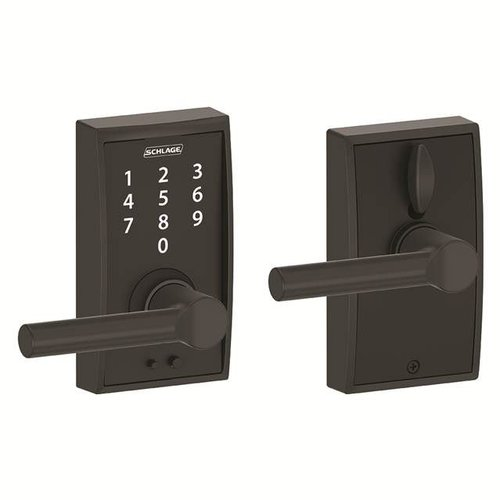 Schlage Touch™ Keyless Touchscreen Broadway Lever with Century Trim
