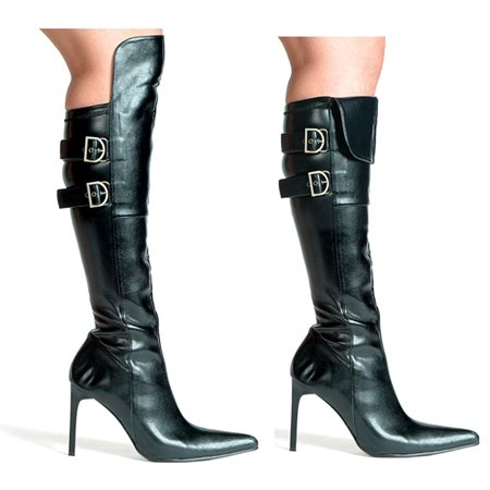097edb1dbb2 Women's Costume Pirate Boots, Black