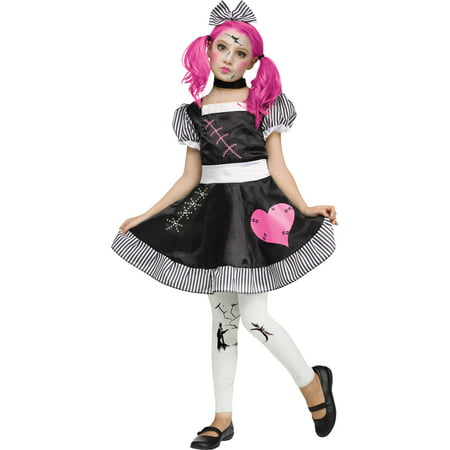Broken Doll Child Halloween Costume - Baby Doll Costume Halloween