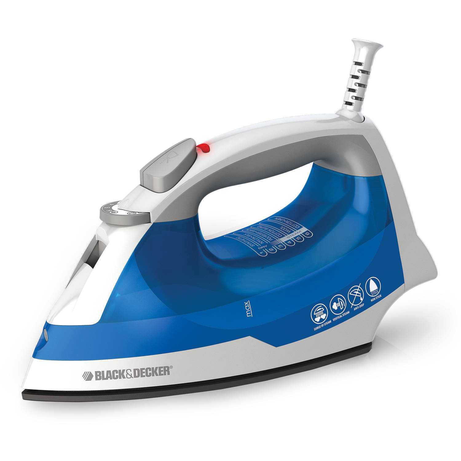 BLACK+DECKER IR03V Easy Steam Iron Clothing Iron