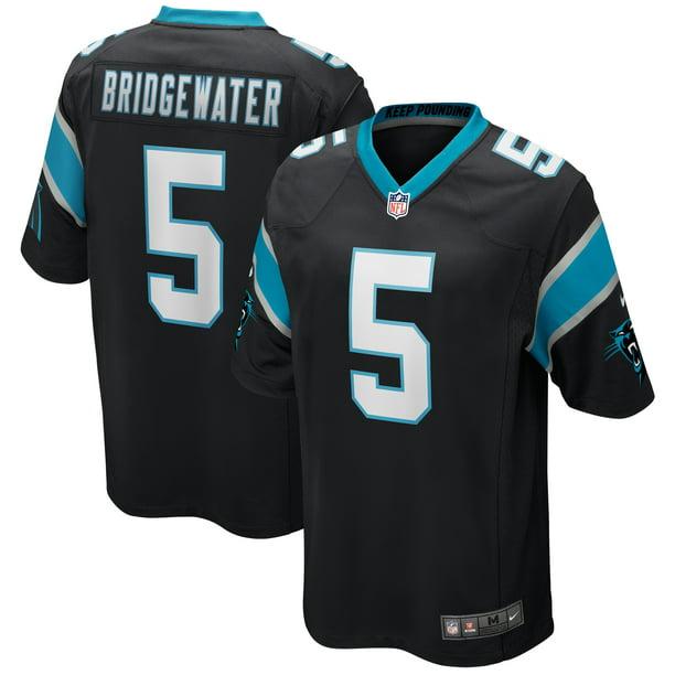 Teddy Bridgewater Carolina Panthers Nike 2020 Game Jersey - Black