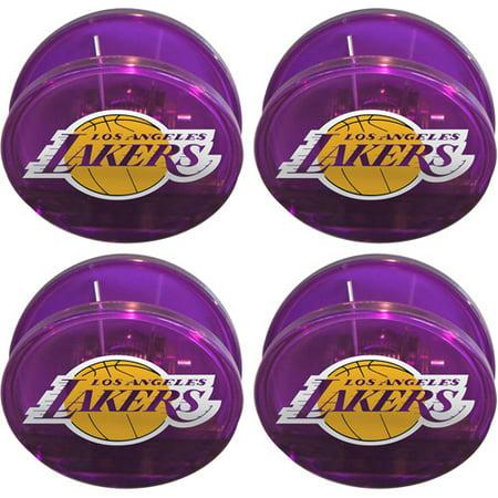 Chip Clip Set - NBA Los Angeles Lakers Magnetic Chip Clip Set, 4pk