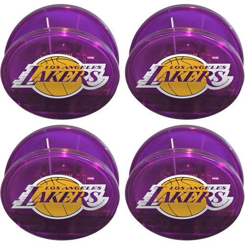 NBA Los Angeles Lakers Magnetic Chip Clip Set, 4pk