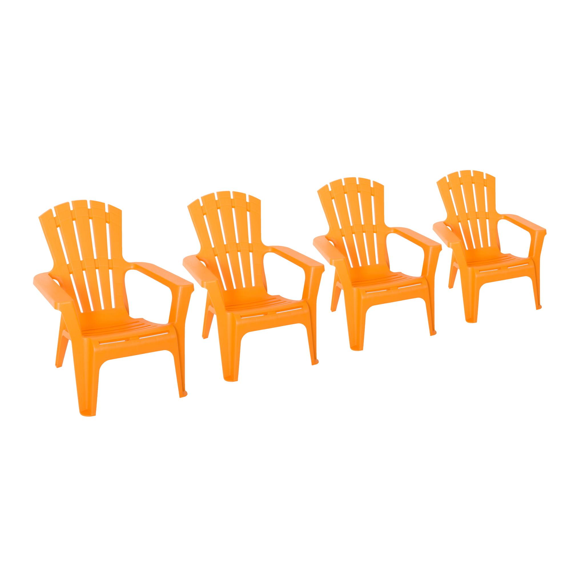 Incadozo Adirondack Chair in Orange (4 Pack)