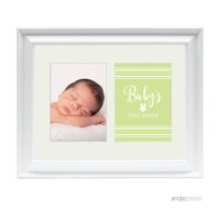 First Easter Double White 5 x 7-Inch Photo Frame Baby Wall Art
