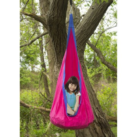 Sorbus Kids Child Pod Swing Chair Tent Hanging Seat Hammock For Indoor And Outdoor Use
