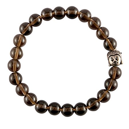 - Smoky Quartz Crystal Gemstone Bracelet