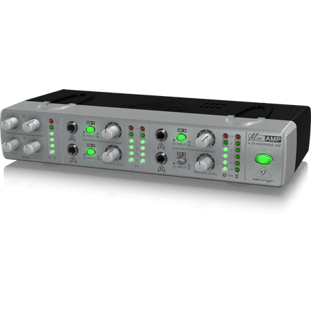Behringer Ultra Compact Amplifier (Behringer AMP800 Ultra-Compact 4-Channel Stereo Headphone)
