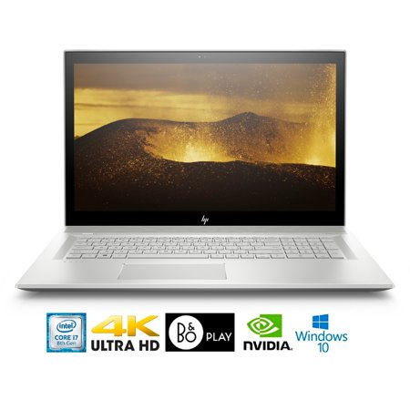 "HP Envy 17-BW011 Intel Core i7-8550U 16GB 17.3"" 4K WLED GeForce MX150 4GB Laptop (Best Price Hp Envy 17 Laptop)"