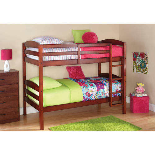 Better Homes and Gardens Leighton Twin Over Twin Wood Bunk