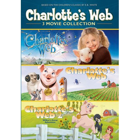 CHARLOTTES WEB 3PK COLLECTION (DVD) (3DISCS) (DVD)