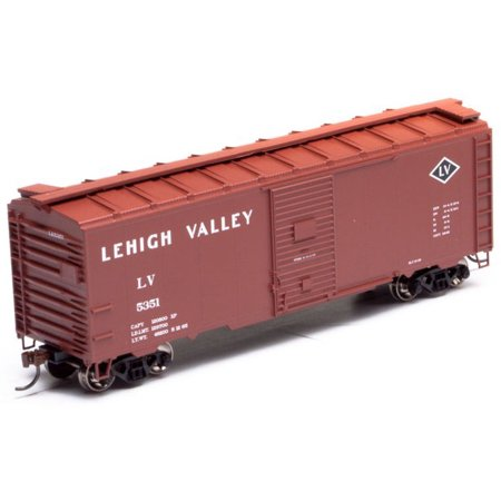 Athearn HO Scale 40ft Youngstown Door Box Car Lehigh Valley/LV (Lehigh Valley Stores)