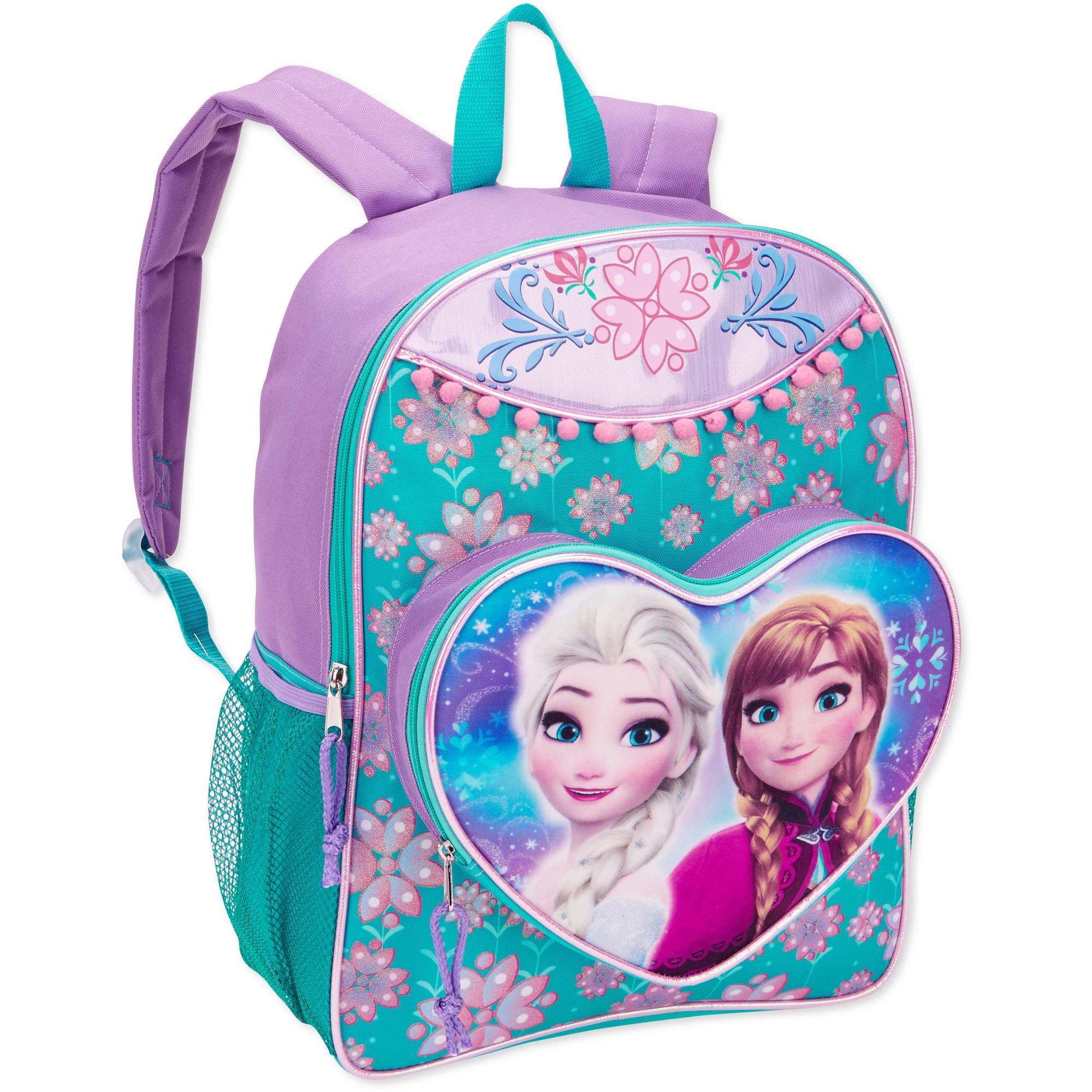 Disney Frozen Anna and Elsa Full Size 16 Inch Kids Backpack