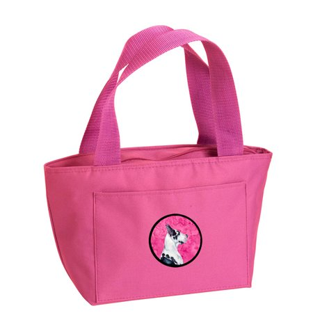 Pink Great Dane Lunch Bag or Doggie Bag LH9371PK