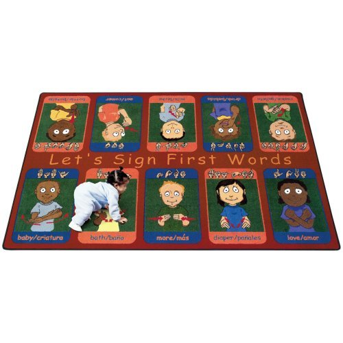 Joy Carpets First Signs Kids Area Rug