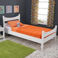 KidKraft Addison Platform Bed with Headboard, Twin, Multiple Colors