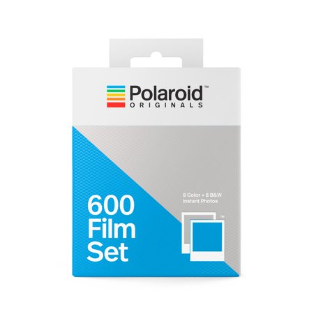 Polaroid Izone Pocket Film (Polaroid Originals 600 Film Set 1 Color and 1 Black White)
