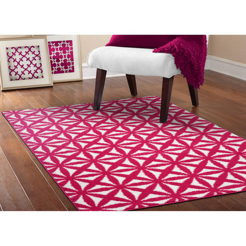 Mainstays Bright Eyed Suzy Olefin Area Rug