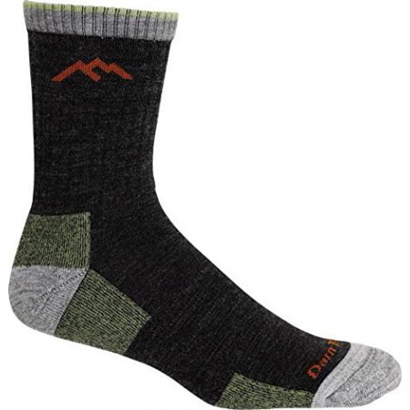 Lorpen Ski Merino Medium Sock - Darn Tough Vermont Merino Wool Micro Crew Sock Cushion,Lime,Medium