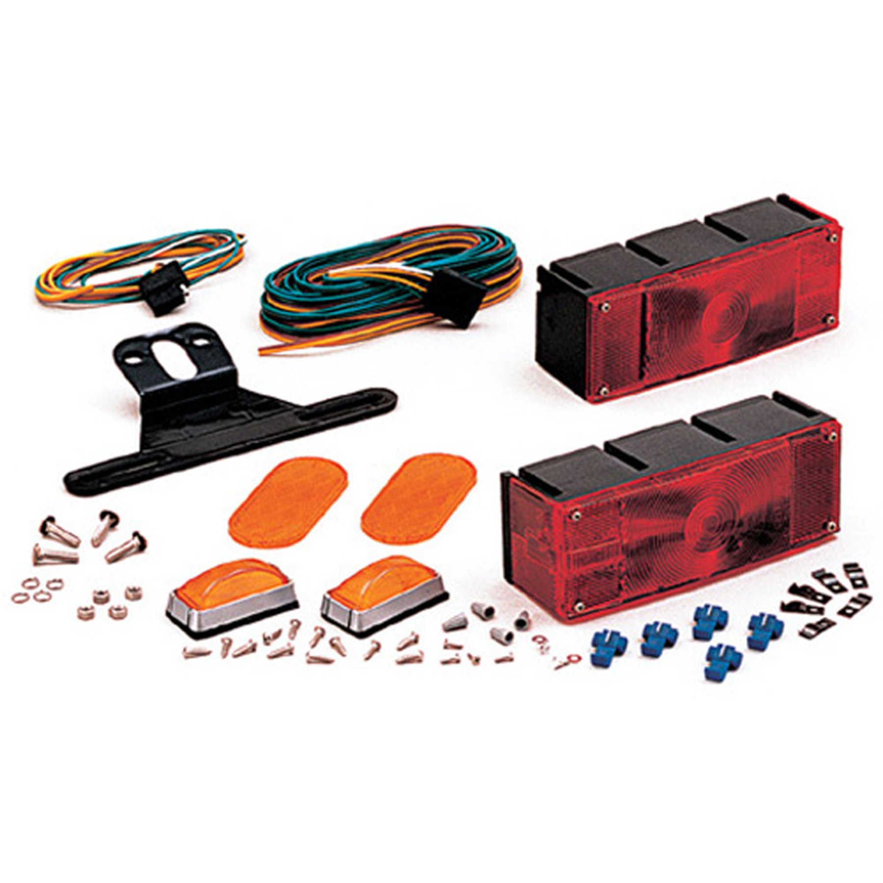 "Optronics TL16RK Patented Saltwater Corrosion Resistant Waterproof Over 80"" Trailer Light Kit"