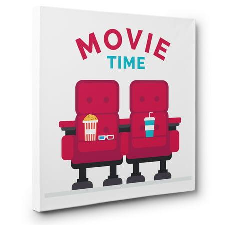 Theater Cinema Movie Room Wall Art CANVAS - Movie Theater Wall Decor