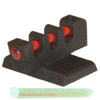 "Kensight Fiber Optic Front Sight - 0.118"" Oversize Blade, Flat Base, 0.180"" High"