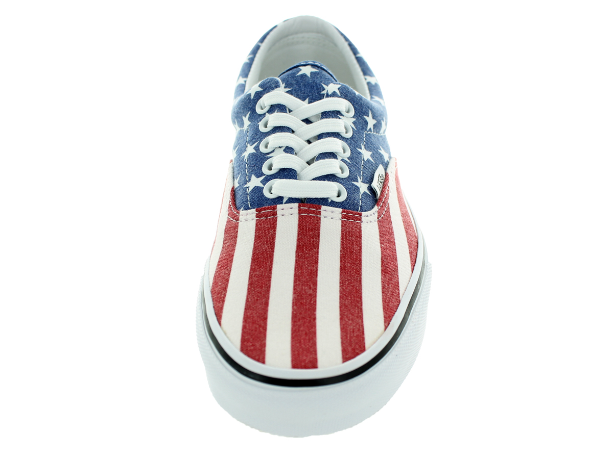 1cfee20296 Vans - Vans Era 59 Van Doren Stars And Stripes Red   White Blue Ankle-High  Canvas Fashion Sneaker - 11M 9.5M - Walmart.com