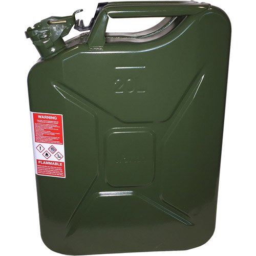 Wavian NATO Jerry Fuel Can Green with Spout