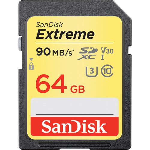 Sandisk Extreme SDXC UHS-I Card 64GB