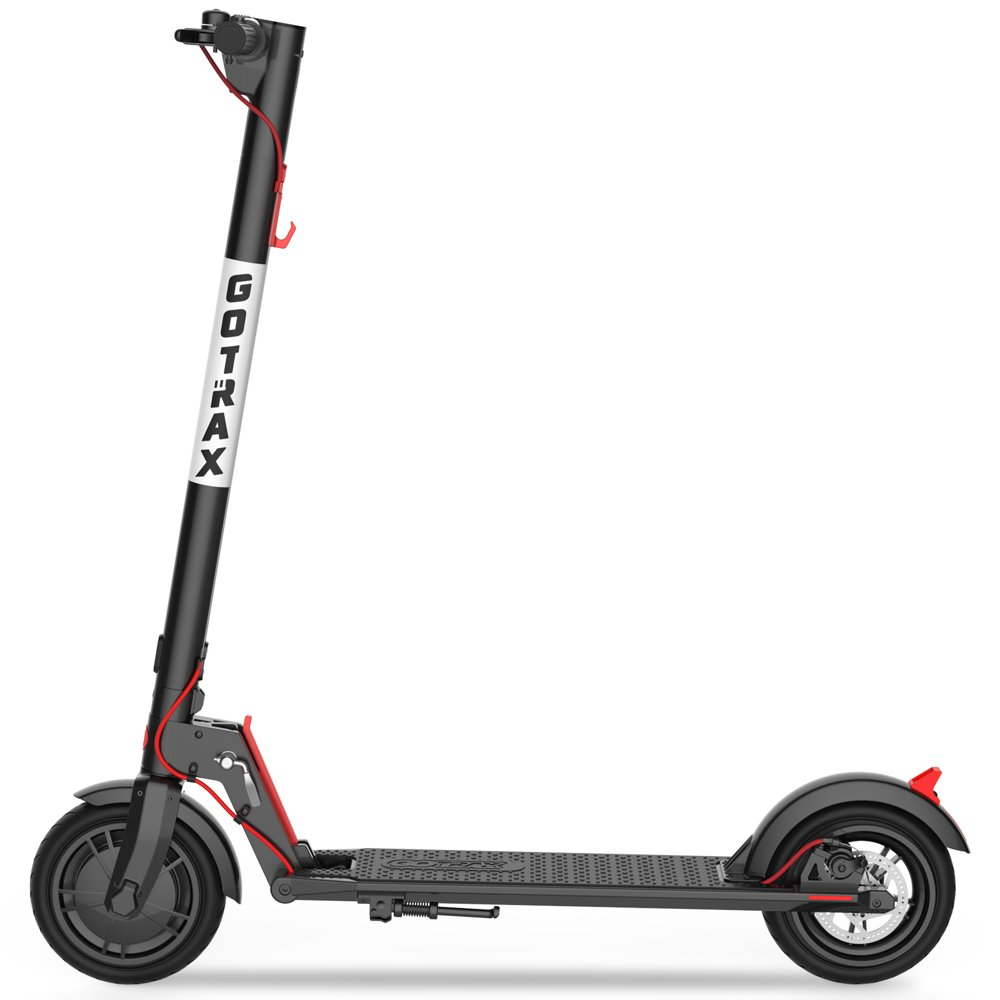 """GOTRAX Rival Commuting Floding Electric Scooter - 8.5"""" Air Filled Tires - 15.5MPH & up to 12mile Range"""