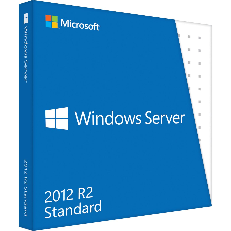 Microsoft Windows Server 2012 R.2 Standard 64-bit Complete Product 5 CAL DVD-ROM PC English by Microsoft