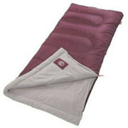 Best Sleeping Bags - Coleman® 50°F Rectangle Sleeping Bag, Maroon Review