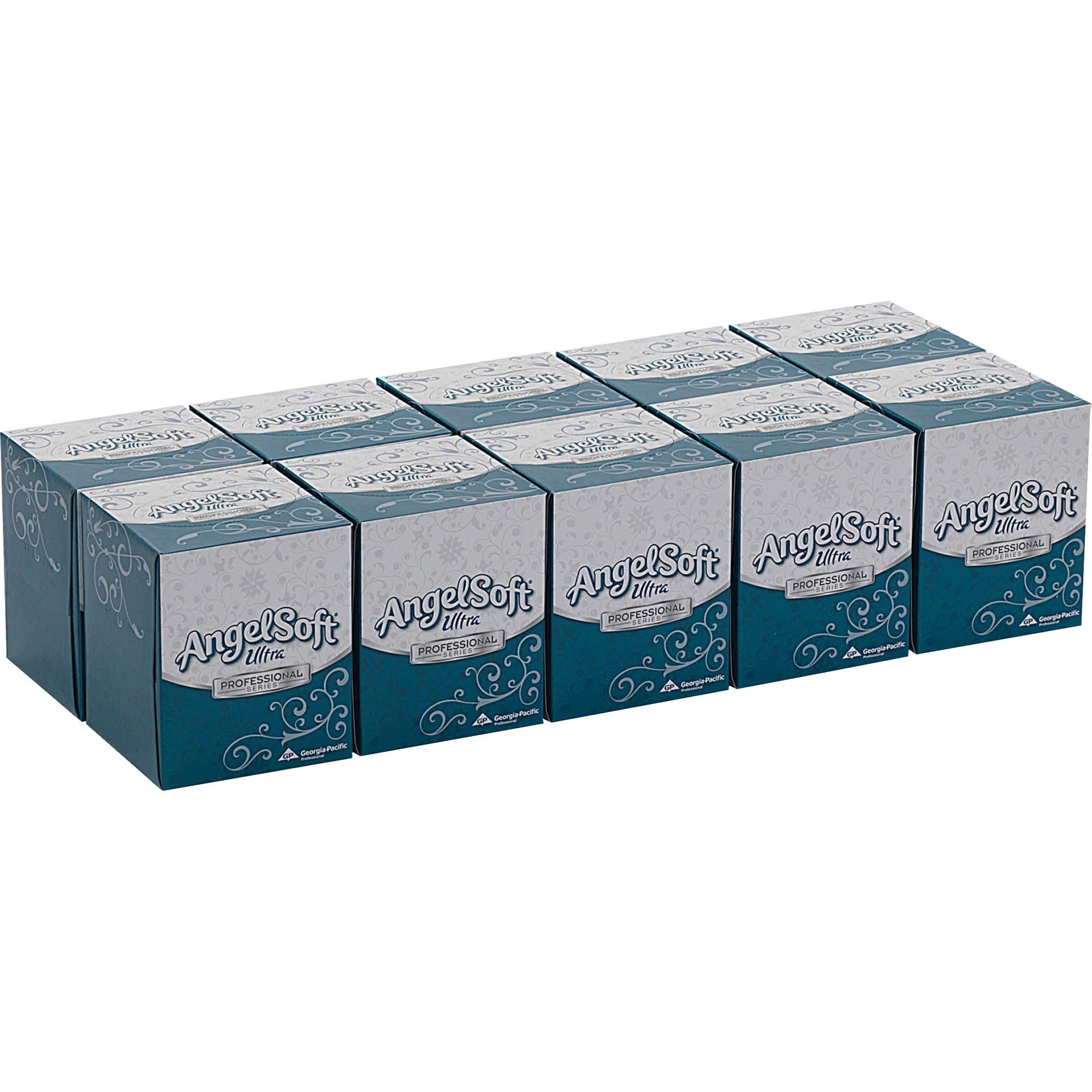 Angel Soft Ultra Professional Series, GPC4636014, Facial Tissue in Cube Box, 960 / Carton, White