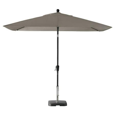 Amauri Pismo Dawn 9 ft. x 7 ft. Rectangular Premium Sunbrella Push Tilt Aluminum Market Patio Umbrella ()